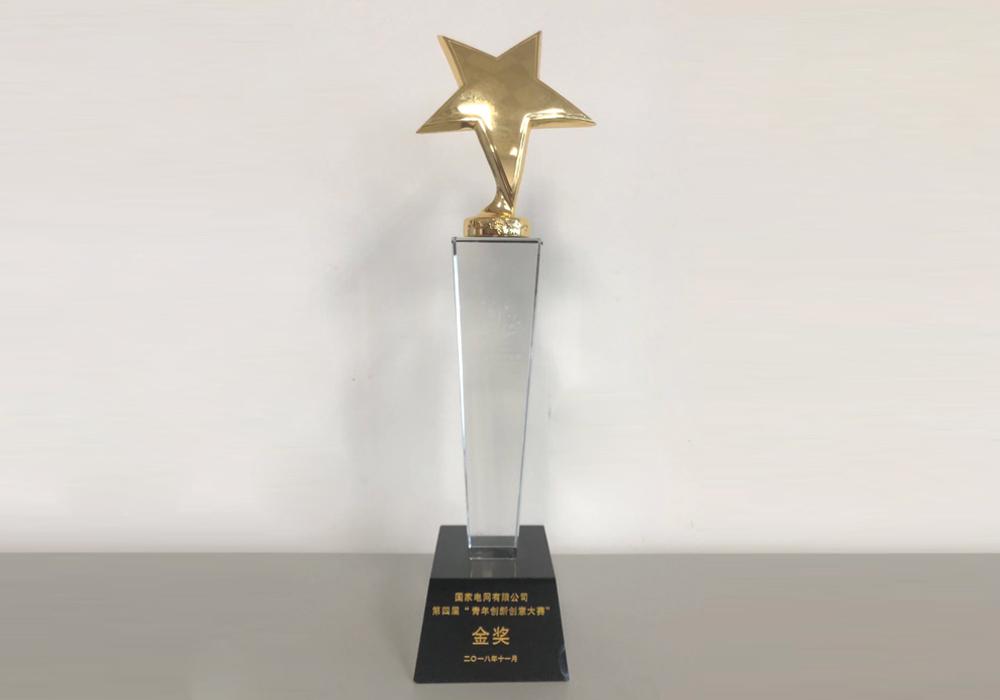 """国家电网""""青年创新创意大赛""""金奖"""
